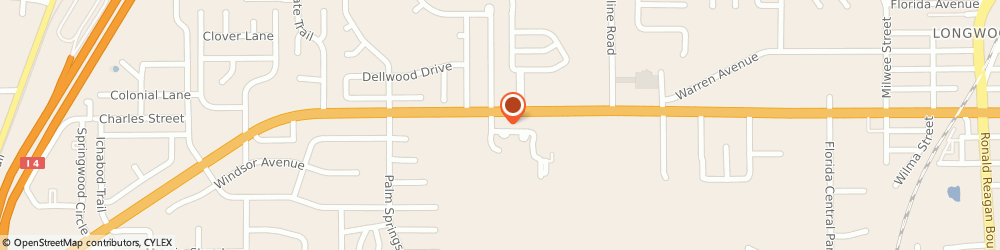 Route/map/directions to Oh My Gyro, 32750 Longwood, 1150 W SR 434