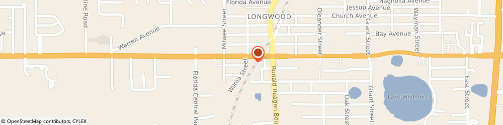 Route/map/directions to Papa John's Pizza, 32750-5108 Longwood, 182 W State Road 434