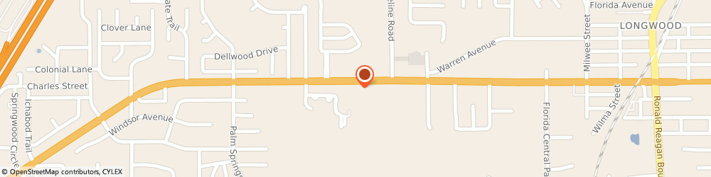 Route/map/directions to Burger King Corporation, 32750 Longwood, 1050 WEST STATE ROAD 434