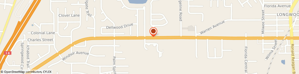 Route/map/directions to CICIS PIZZA, 32750 Longwood, 1155 W STATE ROAD 434 # 101