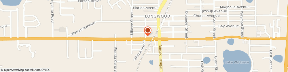 Route/map/directions to Pizza Hut, 32750 Longwood, 201 West S.R. 434