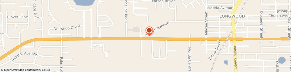 Route/map/directions to Wendy's, 32750 Longwood, 815 W State Road 434