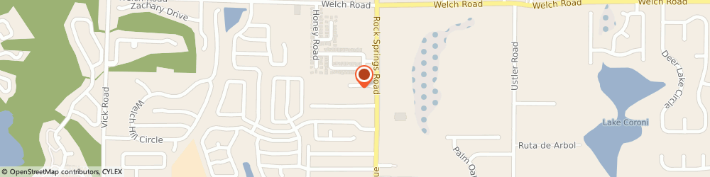 Route/map/directions to Bruce Ross Custom Upholstery, 32712 Apopka, 1168 Rock Springs Rd
