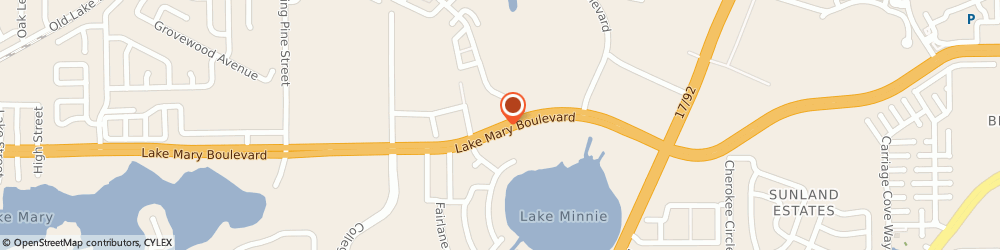 Route/map/directions to The American Legion CATHY SCHUBERT, 32773 Sanford, Seminole Co Avso 534 W Lake Mary Blvd