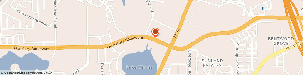 Route/map/directions to Nationwide Insurance, 32773 Sanford, 342 W LAKE MARY BLVD