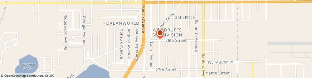 Route/map/directions to ELITE AIR SYSTEMS INC., 32773 Sanford, 2588 S Elm Ave