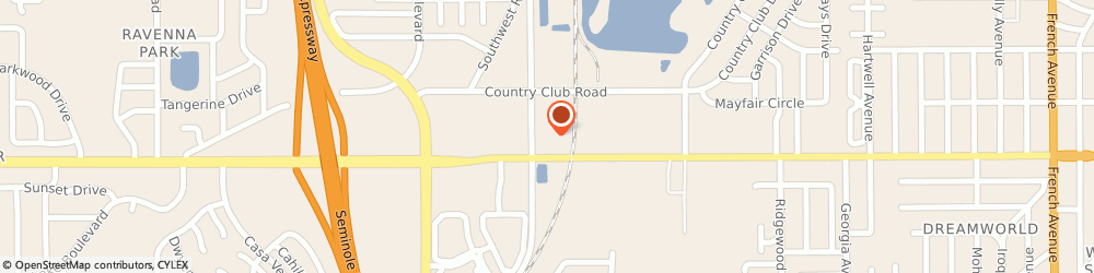 Route/map/directions to On Top It All, LLP, 32771 Sanford, 2499 Old Lake Mary Road