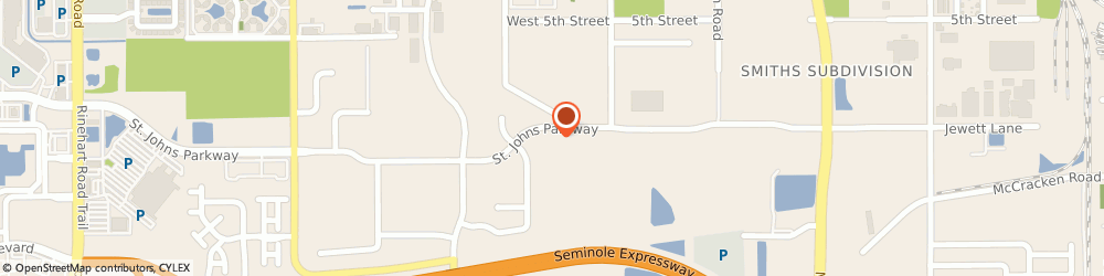 Route/map/directions to Facemyer Air Conditioning and Heating, 32771 Sanford, 3805 St Johns Pkwy
