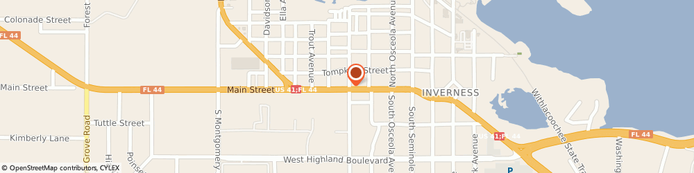 Route/map/directions to Cvs Pharmacy, 34450 Inverness, 602 WEST MAIN STREET