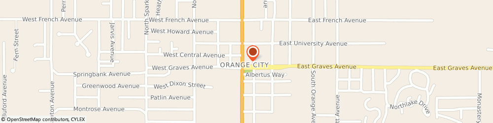 Route/map/directions to Texaco, 32763 Orange City, 150 N Volusia Ave
