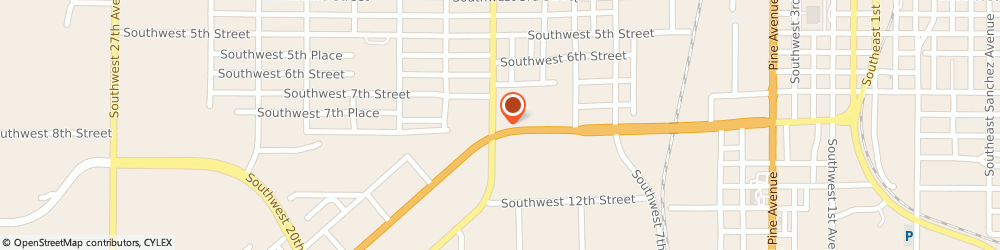 Route/map/directions to Southwest CITGO, 34474 Ocala, 1517 Sw 10Th St
