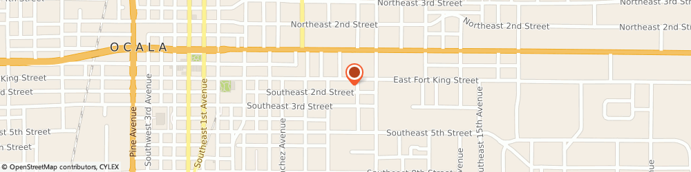 Route/map/directions to Partin Architecture, 34471 Ocala, 936 E Fort King St