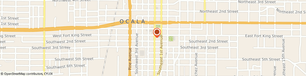 Route/map/directions to Architecture Studio Incorporated, 34474 Ocala, 114 SOUTH MAGNOLIA AVENUE