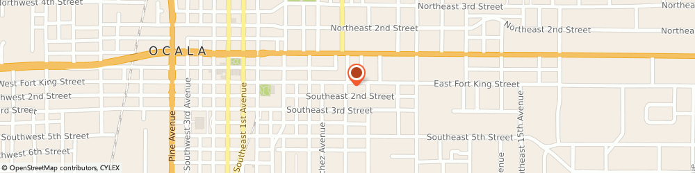 Route/map/directions to Law Office of James L. Moody, P.A., 34471 Ocala, 808 E Fort King St