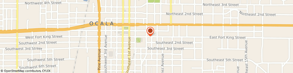Route/map/directions to a Ab Actis Court Reporters Services, 34471 Ocala, 409 EAST FORT KING STREET