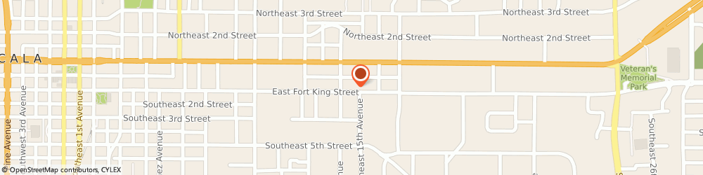 Route/map/directions to Andrew Copeland Architect PA, 34471 Ocala, 1419 E FORT KING ST