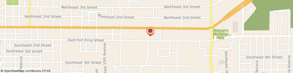 Route/map/directions to Architecture Studio, Inc., 34471 Ocala, 1823 East Fort King Street, Suite 102