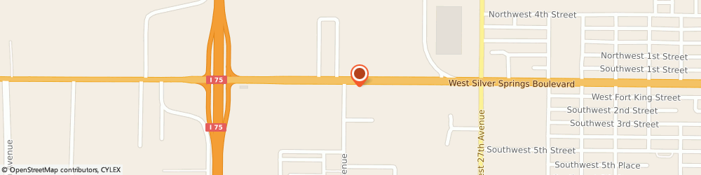 Route/map/directions to Valero OCALA, 34475 Ocala, 3232 W Silver Springs Blvd