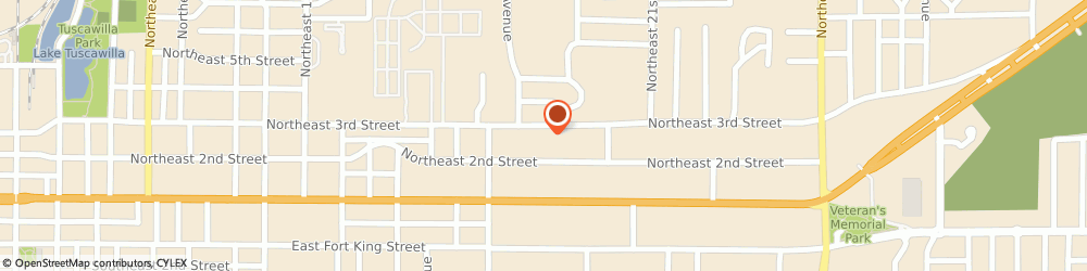 Route/map/directions to Briarwood Apartments, 34470 Ocala, 1738 Ne 3Rd St