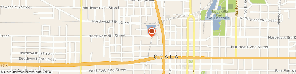 Route/map/directions to Parkside Garden Apartments, 34475 Ocala, 621 Nw 2Nd St