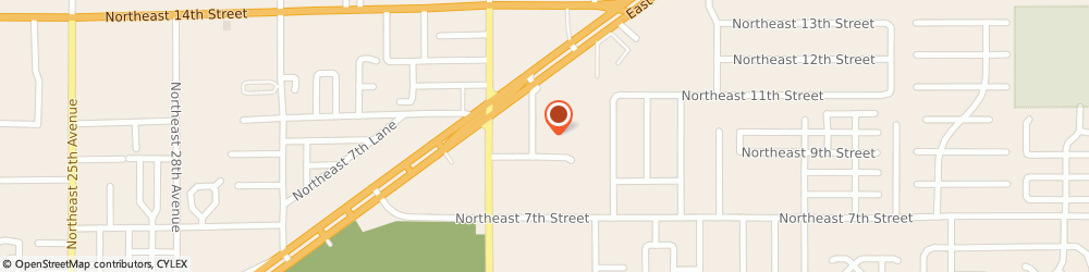 Route/map/directions to Padgett Business Services OCALA, 34470 Ocala, 821 Ne 36Th Terrace