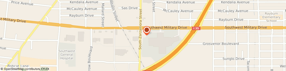 Route/map/directions to Interstate Batteries Dealer, 78224 San Antonio, 2400 Sw Military Dr
