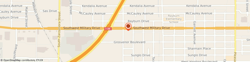 Route/map/directions to U-Haul Moving & Storage of South Park, 78221 San Antonio, 1826 SW Military Dr