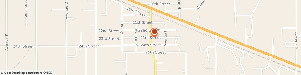 Route/map/directions to First Baptist Church, 77510 Santa Fe, 5400 Main St