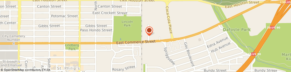Route/map/directions to Ace Spring Service, 78220 San Antonio, 3011 E Commerce