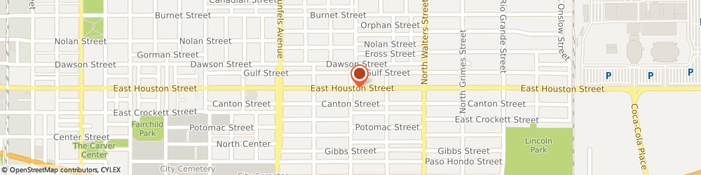 Route/map/directions to RockItCoin Bitcoin ATM, 78202 San Antonio, 2758 East Houston Street