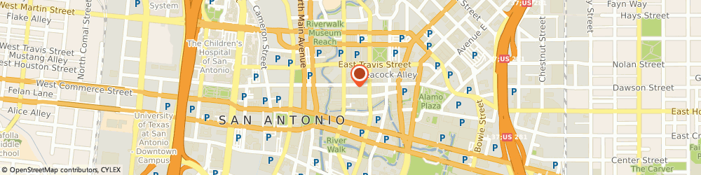 Route/map/directions to Arts Center Enterprises Incorporated, 78205 San Antonio, 208 EAST HOUSTON STREET