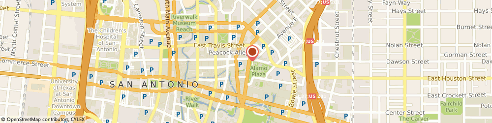 Route/map/directions to Innovative Panel Systems, 78205 San Antonio, 518 East Houston Street