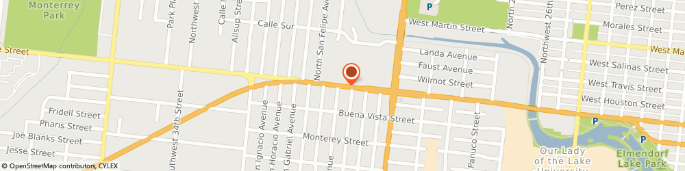 Route/map/directions to Bank of America, 78237 San Antonio, 4875 W COMMERCE ST