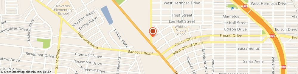 Route/map/directions to Art's Tire Warehouse, 78201 San Antonio, 3350 Fredericksburg Rd