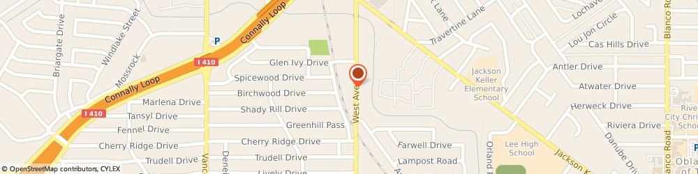 Route/map/directions to The Install Shop, 78213 San Antonio, 4831 W Ave Unit 106