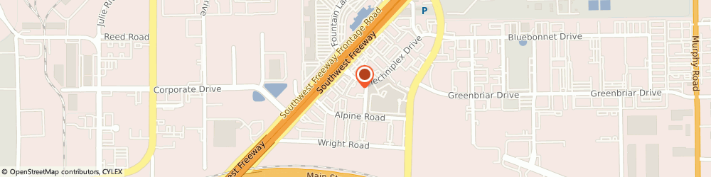Route/map/directions to Comfort Suites, 77477 Stafford, 4820 Techniplex Dr.