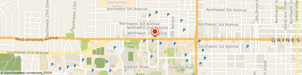Route/map/directions to Dunkin', 32603 Gainesville, 1730 W University Ave