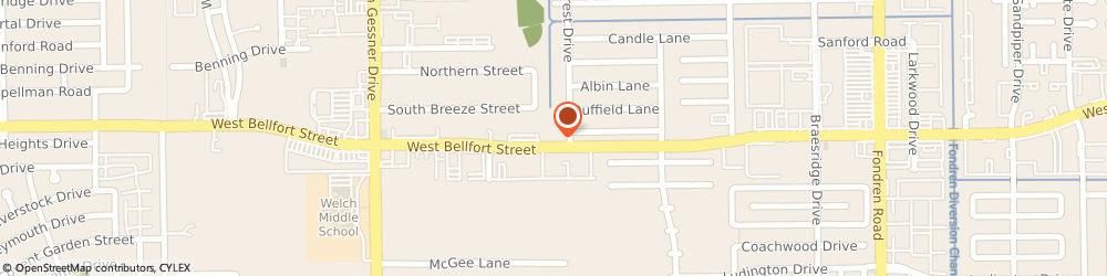 Route/map/directions to Continuity Corporation, 77071 Houston, 11280 BRAES FOREST DRIVE APT 201