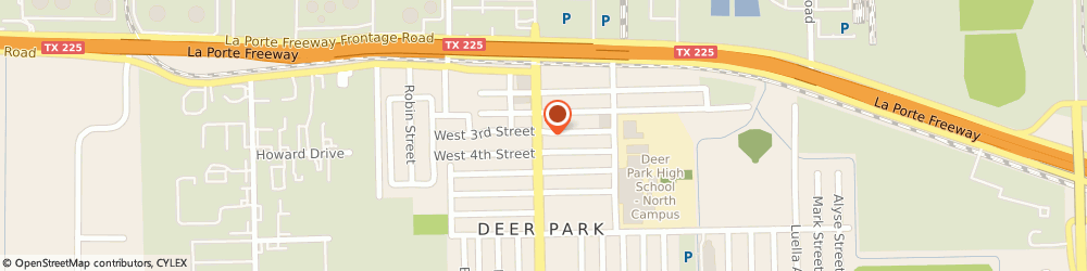 Route/map/directions to Domino's Pizza, 77536-2737 Deer Park, 301 Center St