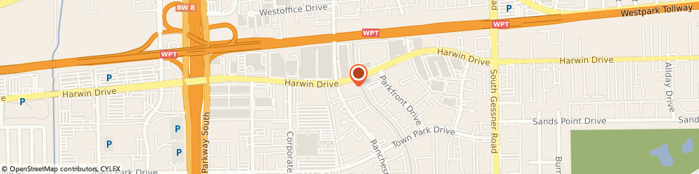 Route/map/directions to Cassel Health Services Incorporated, 77036 Houston, 10333 Harwin Dr, Suite 575