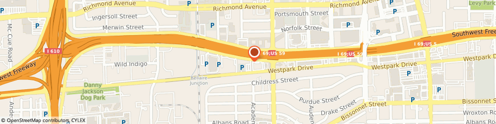 Route/map/directions to Advanced Nutritional Medicine Center, 77027 Houston, 4141 Southwest Fwy