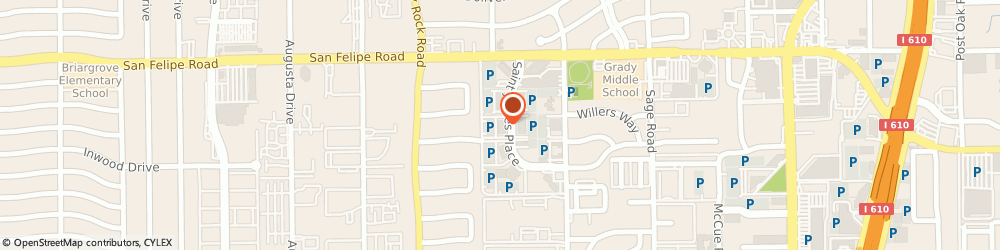 Route/map/directions to The Weisblatt Law Firm, PLLC, 77056 Houston, 1800 St. James Place