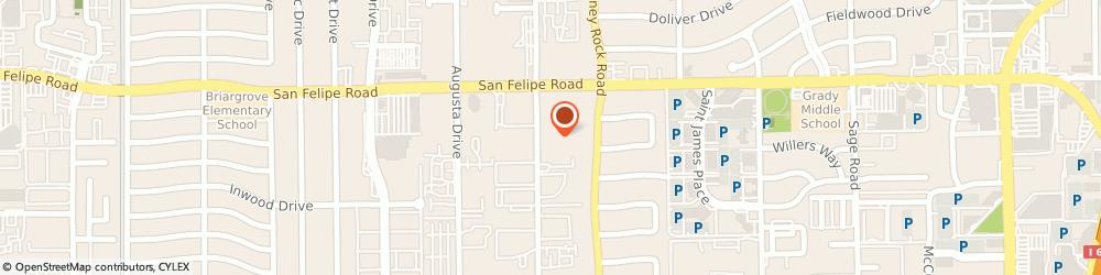 Route/map/directions to Gordon, Elias & Seely, LLP, 77057 Houston, 1811 Bering Drive