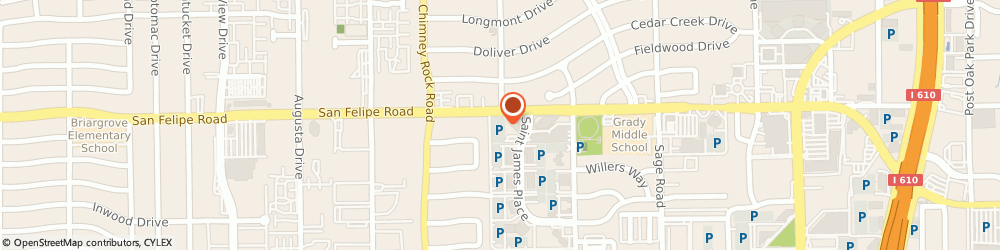 Route/map/directions to Padua Law Firm, 77056 Houston, 5599 San Felipe St