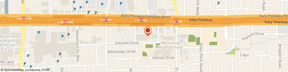 Route/map/directions to Pier 1, 77024-1503 Houston, 9421 Katy Freeway