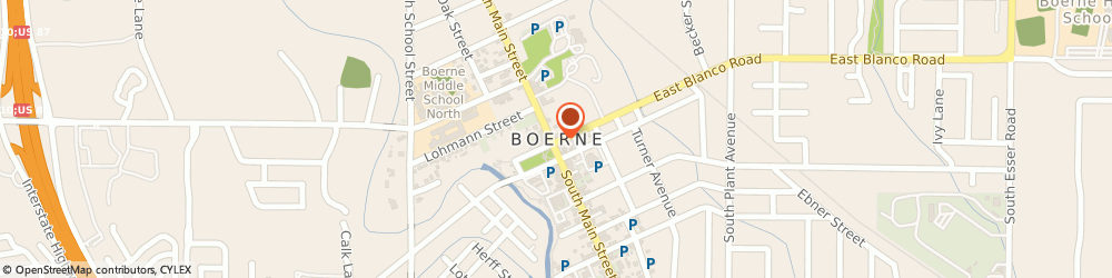 Route/map/directions to Keller Williams Realty Boerne Hill, 78006 Boerne, 1595 S. Main St., Suite 101