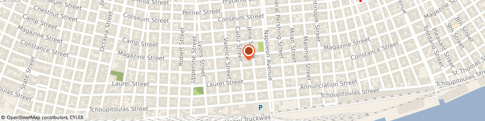 Route/map/directions to Twickler Raymond Jr Roofing & Sheetmetal Works Incorporated, 70115 New Orleans, 827 Cadiz St