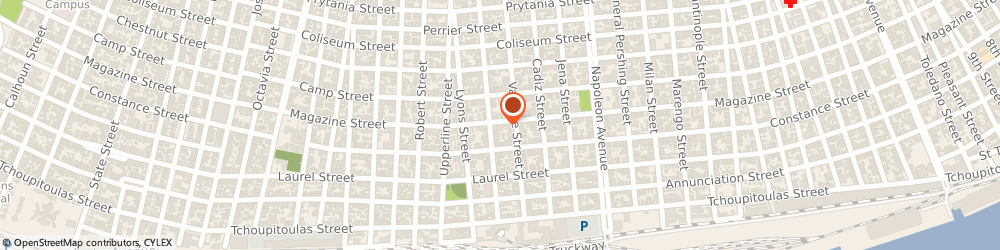 Route/map/directions to Zone Heating and Air Conditioning Incorporated, 70112 New Orleans, 4724 Magazine St