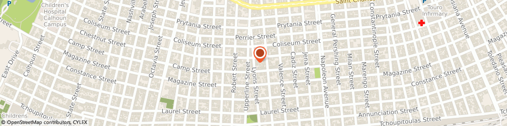 Route/map/directions to Electriks Balthazar, 70115 New Orleans, 3701 TCHOUPITOULAS STREET SUITE A