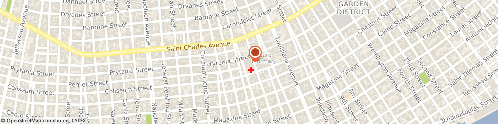 Route/map/directions to Akula Shiva K Md, 70115 New Orleans, 3600 PRYTANIA ST STE 65